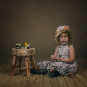 La pequeña Edurne